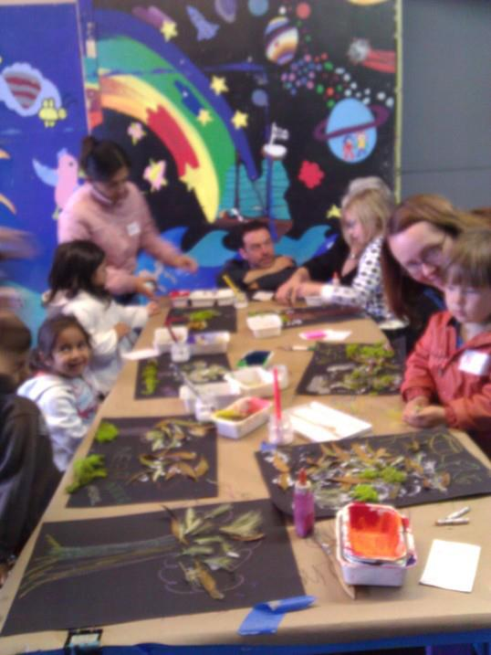 Second Pilot Session of Spanish Through Eco-Art Program Underway at Precita Eyes Muralists